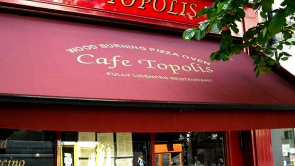 Achado em Dublin: Cafe Topolis