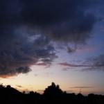 Um belo pôr do sol…