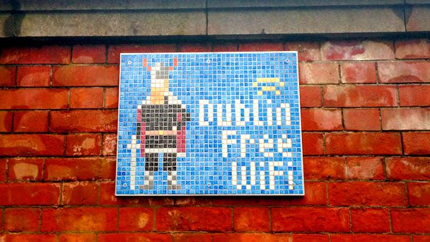 Se Virando em Dublin: Free Wi-fi