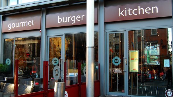 Achado em Dublin: Gourmet Burger Kitchen