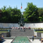 Conhecendo a Irlanda: Garden Of Remembrance