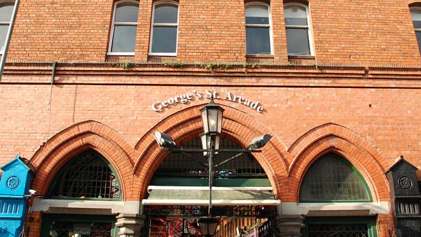 Achado em Dublin: George's Street Arcade