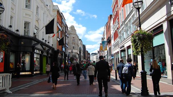 Conhecendo a Irlanda: Grafton Street