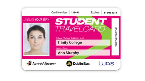 Se virando em Dublin: Student Travel Card