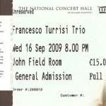 Francesco Turrisi Trio