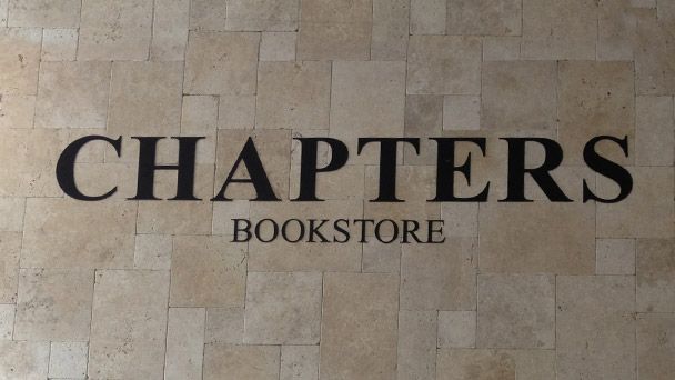 Achado em Dublin: Chapters Bookstore