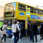 Se virando em Dublin: Pegando ônibus