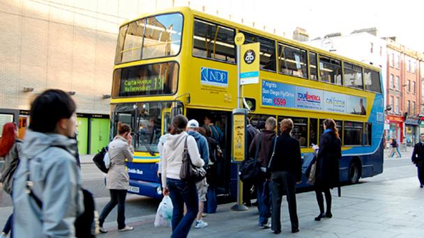 Se virando em Dublin: Internet grátis no ônibus