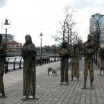 Conhecendo a Irlanda: Famine Memorial