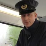 Se virando em Dublin: Fiscal de ônibus