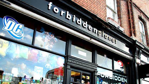 Achado em Dublin: Forbidden Planet