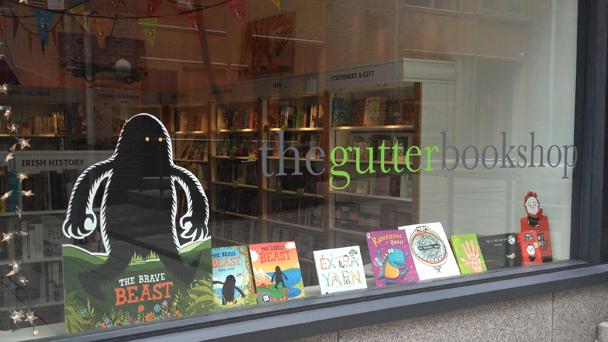 Achado em Dublin: The Gutter Bookshop