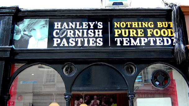Achado em Dublin: Hanley's Cornish Pasties