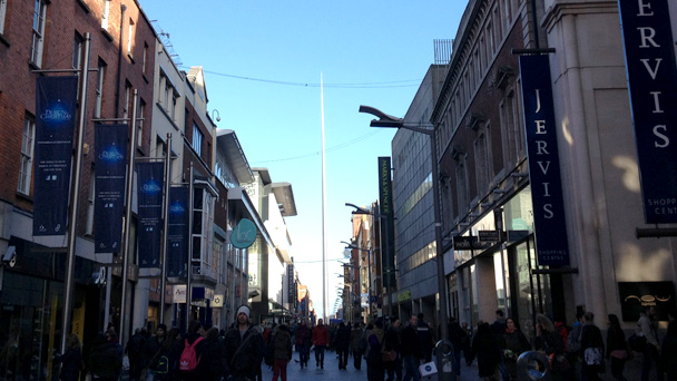 Conhecendo a Irlanda: Henry Street