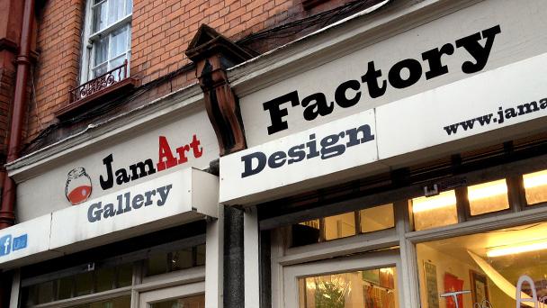 Achado em Dublin: Jam Art Factory