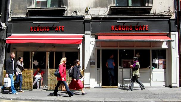 Achado em Dublin: Keogh's Café