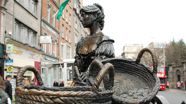 Conhecendo a Irlanda: Molly Malone