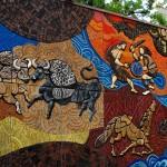Conhecendo a Irlanda: Mural de Táin Bó Cúailnge
