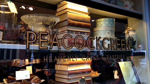 Achado em Dublin: Peacock Green & Co.