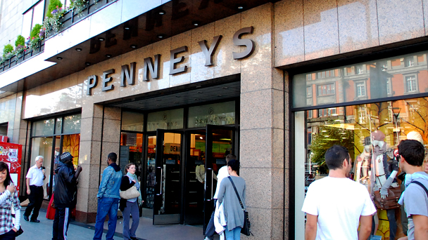 Achado em Dublin: Penney's