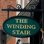 Achado em Dublin: The Winding Stair