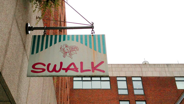 Achado em Dublin: Swalk