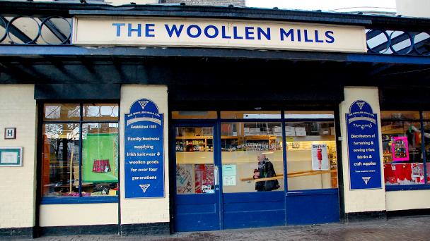 Achado em Dublin: The Woollen Mills