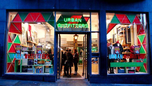 Achado em Dublin: Urban Outfitters